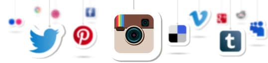 sociale media kanalen logo