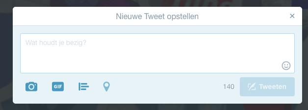 Anatomie van een tweet