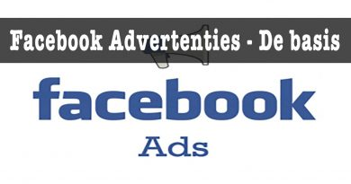 Facebook advertenties de basis