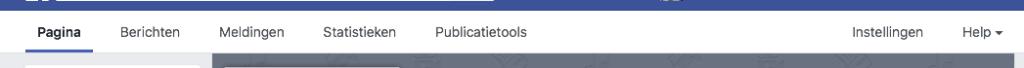 Facebook balk met verschillende opties