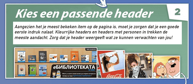 Tip 2 - Facebook bedrijfspagina optimaliseren