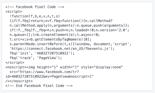 Facebook adverteren - Facebook Pixel installeren