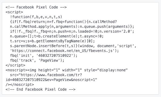 Facebook adverteren - Facebook Pixel installeren