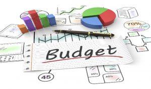 budget en middelen instellen