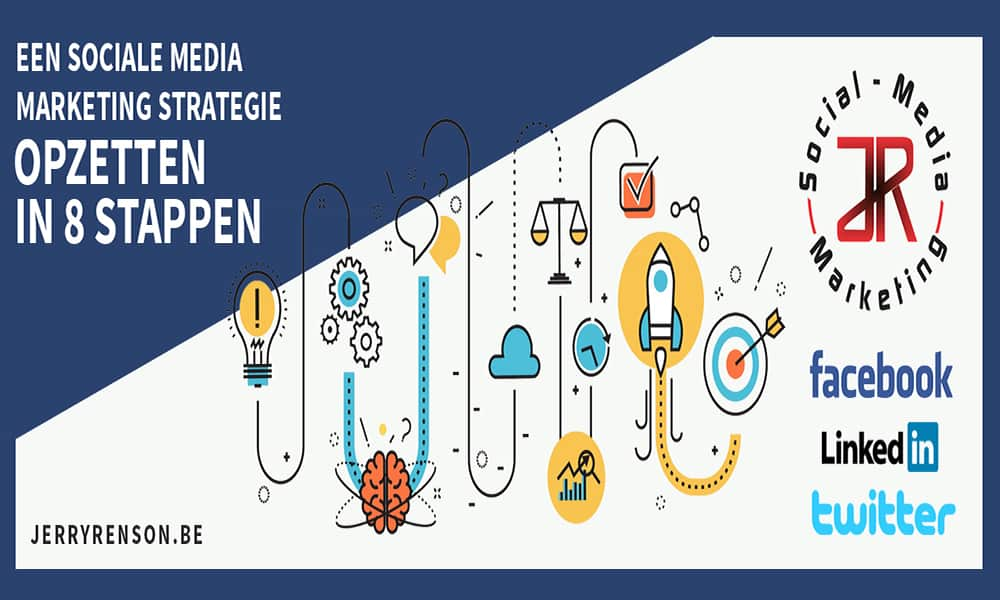 sociale media marketing strategie opzetten in 8 stappen