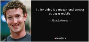 quote Mark Zuckerberg Facebook video
