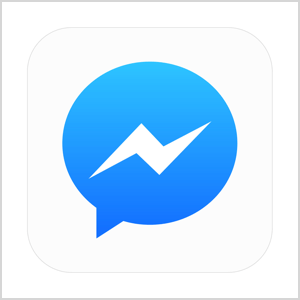 facebook messenger icoon