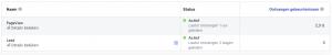 controleren of je Facebook gebeurtenissen actief zijn